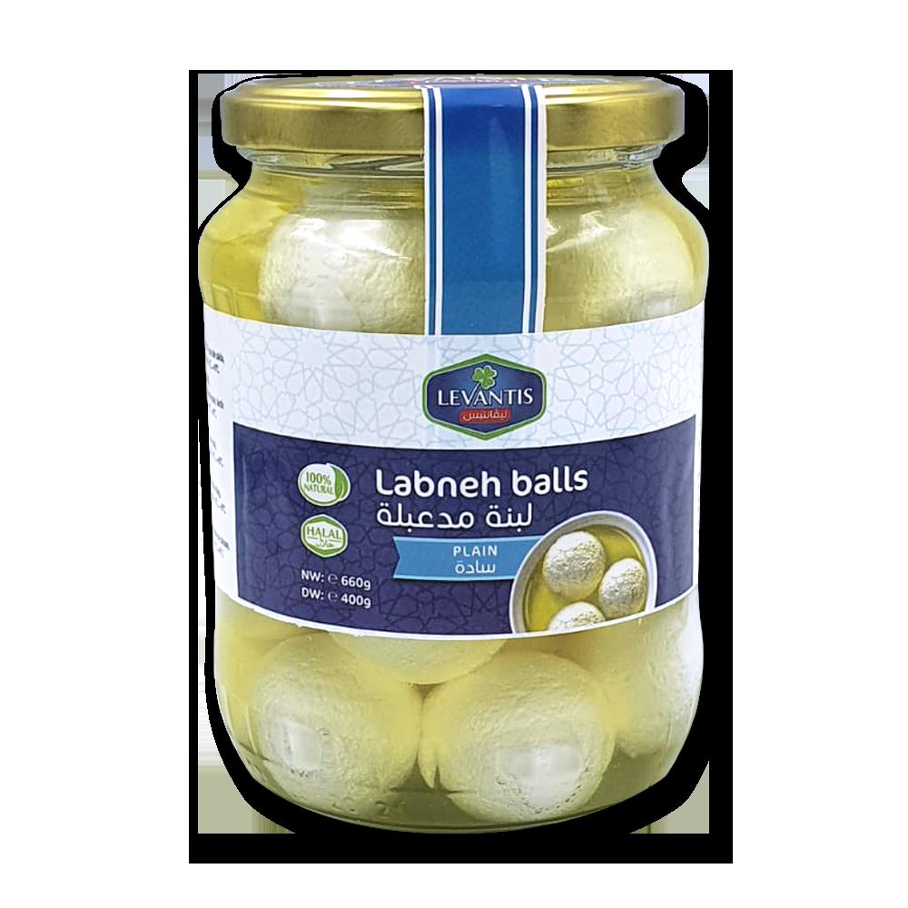 Levantis Labneh balls in ulei - Plain